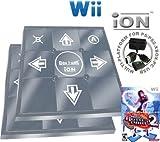 2 x Wii Dance Dance Revolution DDR iON Metal Dance Pad + Dance Dance Revolution DDR Hottest Party 2
