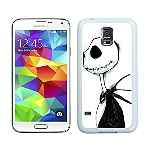 jack from the nightmare before christmas White Fashion Customize Design Samsung Galaxy S5 I9600 G900a G900v G900p G900t G900w Phone Case