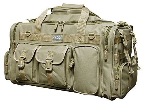 26″ 3800cu.in. Military Molle Tactical Gear Duffle Range Shoulder Strap Travel Bag TF126 TAN