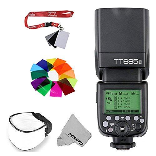 Fomito Godox TT685S HSS 1/8000S GN60 TTL Flash Speedlite for Sony A7 A7R A7S A7II A7RII A58 A99 A6000 DSLR