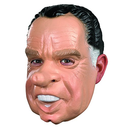 Nixon Costume Mask,Tan/black/white,One Size