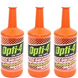 Opti-4 SAE 5W30 20 Fl Oz 4-Cycle Formula Engine Lubricant, 3-Pack Winter Grade