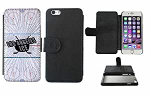 Los Angeles Ice Leather Phone Case Cover with Credit Card Holder Apple iPhone 6 Plus (5.5 Inches) by icecream design