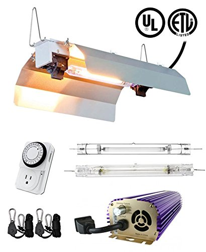 SPL Horticulture 1000 Watt Grow Light Digital Dimmable HPS M