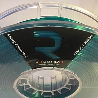 Amazon.com: REPKORD MAX 3D Printer Filament USA Made 1.75mm Minty Fresh Green PLA, Makerbot Compatible 1lb Spool: Industrial & Scientific