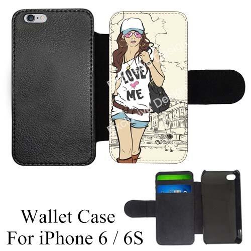 amazon com cute fashion girl custom credit card holder flip walletIphone 6 Cell Phone Cases Apple Iphone 6 Case Custom Iphone Skins Cool Iphone 6 Skins Fashion #14
