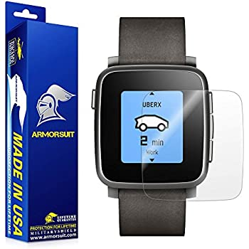 Amazon.com: ArmorSuit Pebble Steel Smartwatch Screen ...