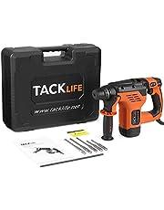 Tacklife Perceuse Percussion 710W, 31pcs Kit D'accessoires, 2800 RPM Perforateur Taille de Mandrin 0-13mm, Poignée Rotative à 360°   PID01A