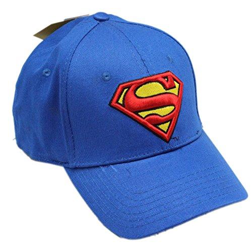 6c440994482 Superman Men s Logo Curved Brim Baseball Cap