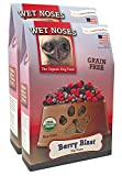 Wet Noses All Natural Dog Treats, Made in USA, 100% USDA Certified Organic, Non-GMO Project Verified (Grain Free Berry Blast, 2-Pack)