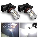 YINTATECH 2 X 9006 HB4 High Power LED 80W New Ultra White Fog Light Driving Lamp Bulbs