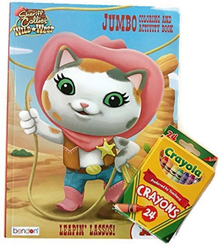 Sheriff Callie's Wild West ''Leapin' Lassos!'' Jumbo Coloring