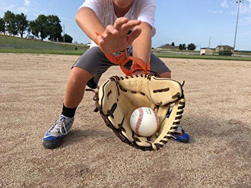 [Re-Link & Fielding Consistency Trainer (Fluorescent Green)] (Baseball Throwing Fundamentals)