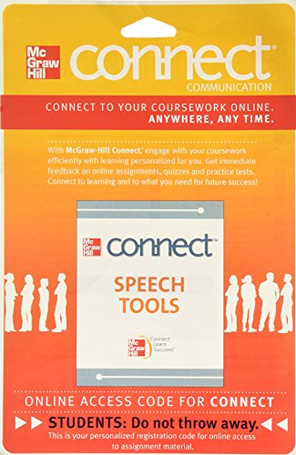 Connect Speech Tools 1 Semester Access Card