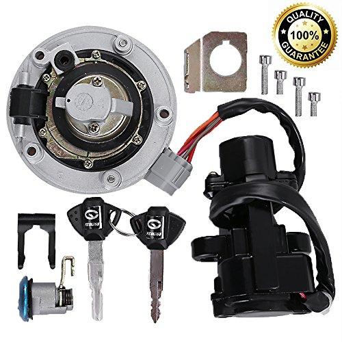 Ignition Switch Gas Petrol Cap Cover Lock Key Set for Suzuki GSXR 600/750 2004-2016 GSXR1000 2003-2016