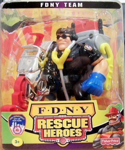 Fisher Price Rescue Heroes Matt Medic (FDNY Team)