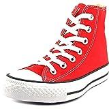 Converse Unisex Chuck Taylor Hi Basketball Shoe (Red, 5.5 D(M) US)
