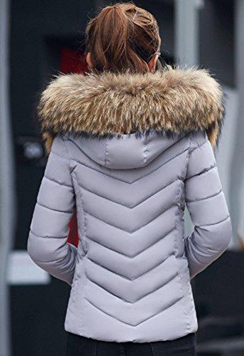 4xl Wealsex Manteau Femme Coton Grande Xl Court Doudoune Chaude Slim OPxvAx