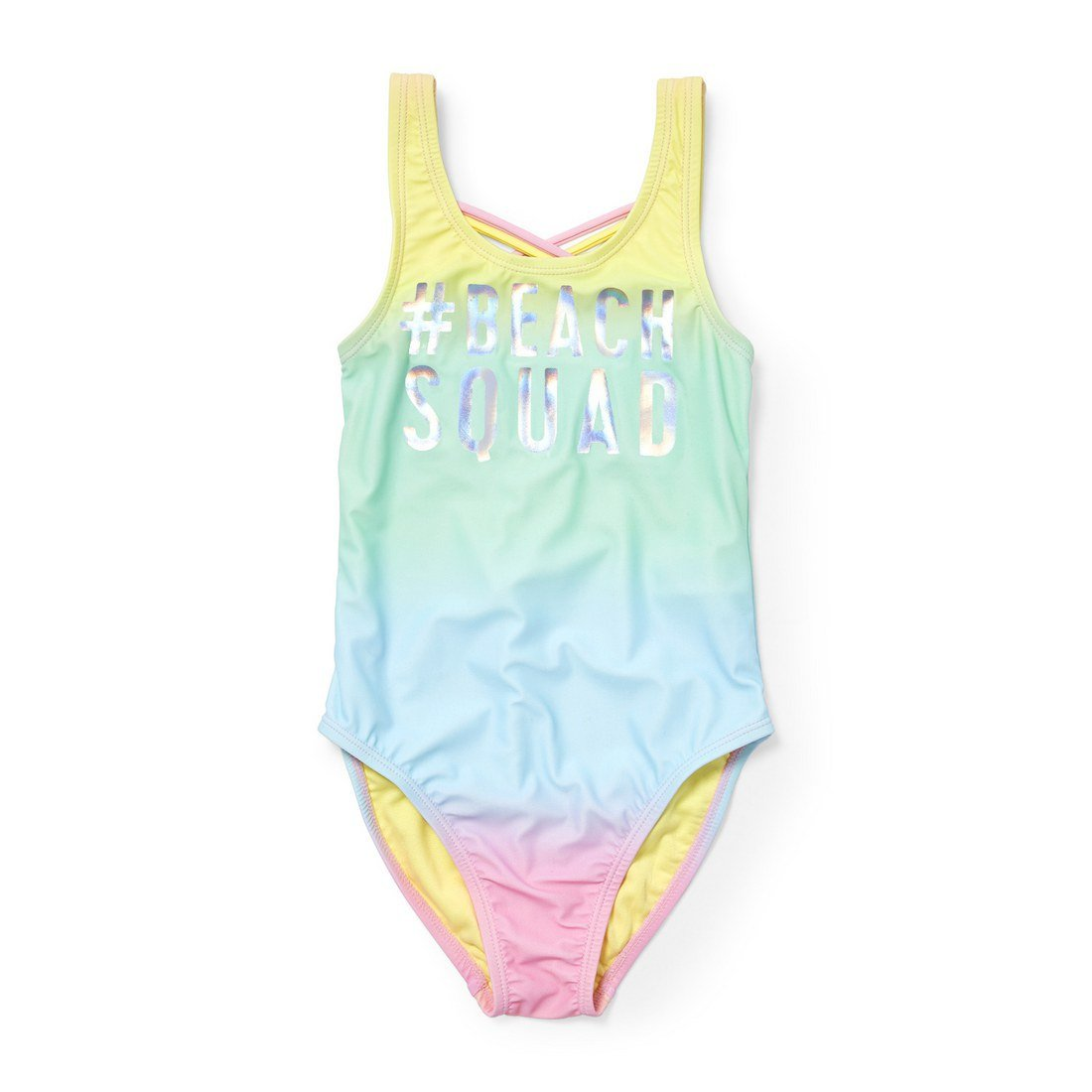 The Children's Place Big Girls' One Piece Swim Suit, Arizona Sun 4255, XS (4)