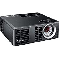Optoma ML750 3D Ready DLP Projector - 720p - HDTV - 16:10 - 2 - LED - PAL, SECAM, NTSC - 20000 Hour - 1280 x 800 - WXGA - 10,000:1 - 700 lm - HDMI - USB - microSD - 62 W - 1 Year Warranty - ML750