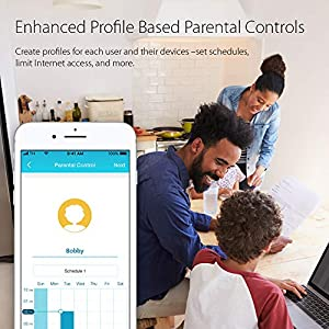 D-Link Smart AC1900 High-Power Gigabit Router with Voice Control w/Amazon Alexa or Google Assistant, Enhanced Parental…