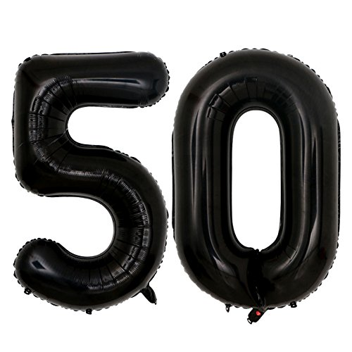 50 birthday numbers - 8