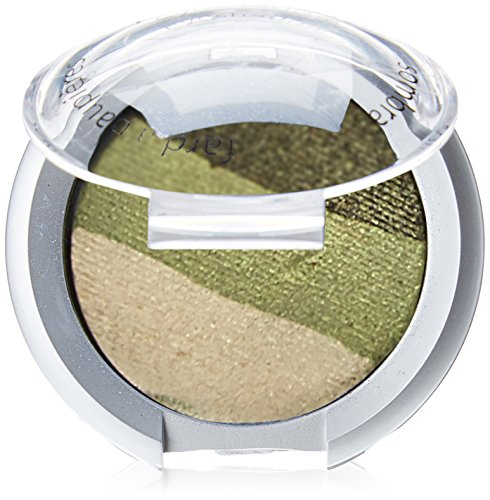 Palladio Cosmetic Baked Eyeshadow Trio, Green Forest, 0.09 Ounce ()