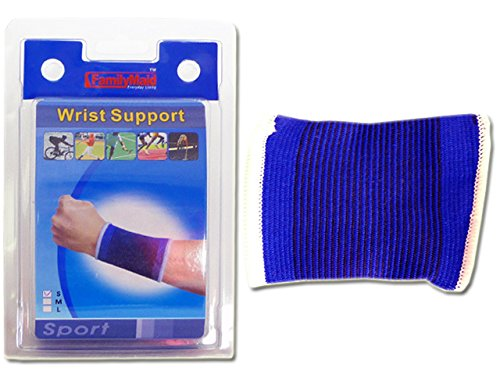 Wrist Bandage Support One size fits most , Case of 96 by DollarItemDirect