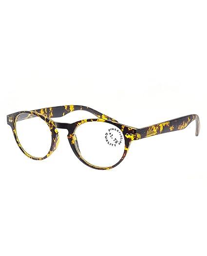 97739164fbdb NYFASHION101 Unisex Casual Lightweight Modern Round Frame Reading Glasses