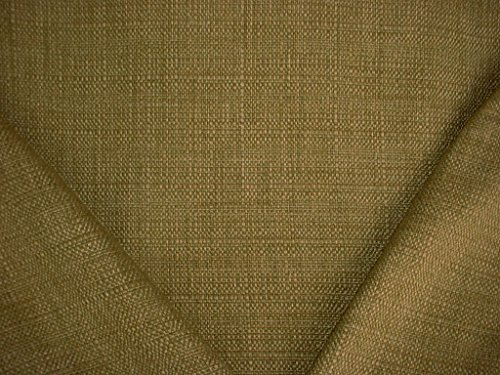 108RT7 - Moss Citron Citrus Gold Hemp Overscaled Basketweave Tweed Designer Upholstery Drapery Fabric - By the -