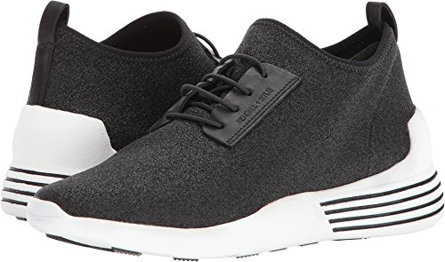 KENDALL + KYLIE Women's Brandy Sneakers, Black/White, 7 B(M) - Black And And White Kendall Kylie