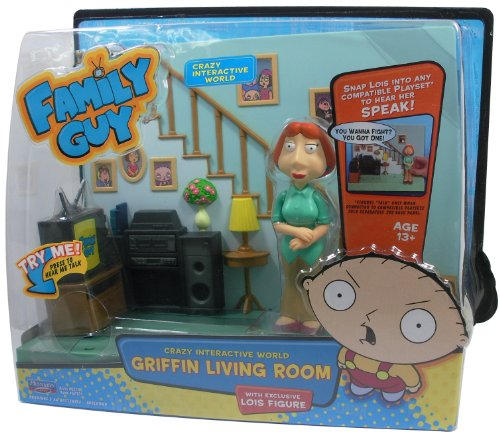 (Family Guy - Griffin Living Room Playset )