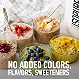 Isopure Zero Carb Unflavored 25g Protein, 100% Whey Protein Isolate, Keto Friendly Protein Powder, No Added Colors/Flavors/Sweeteners, GMO Free, 1 Pound