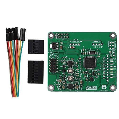 Tangxi Relay Board for Raspberry Pi, Multi-Mode Digital Voice Modem Relay Board, MMDVM Repeater Relay Board for Raspberry Pi PI3
