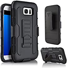 Galaxy A510/A5 2016 Case,Stanlance Swivel Belt Clip Holster Shell Cover with Kickstand [MILITARY GRADE] Heavy Duty Sturdy Rubber Armor Case for Samsung Galaxy A510/A5 2016