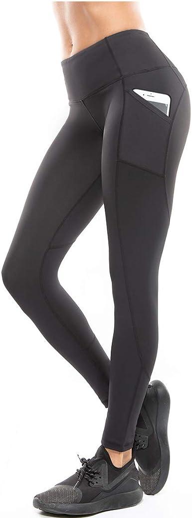 Women High Waist Seamless Leggings Gym Sports Yoga Fitness Slim Trousers MA