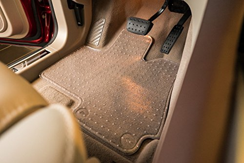 2017-2017 Infiniti QX30 Sedan Exact Mats Clear Floor Mats and Cargo Liner (2 Piece Front and 2 Piece Rear Liners with Cargo ()