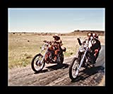 8 x 10 All Wood Framed Photo Easy Rider