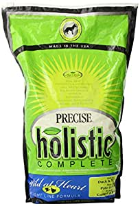 Precise 726534 Holistic Complete Duck and Turkey Food Bag for Dog, 6-Pound