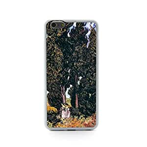 CaseCityLiu - Two women under the cypress Vincent Willem van Gogh Oil Painting Design Hard Case Cover for Apple iPhone 5 5s 5th 5g 5Generation Come With FREE Non Woven Packing Bag