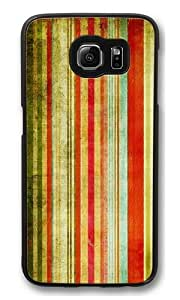 Colourful background Polycarbonate Hard Case Cover for Samsung S6/Samsung Galaxy S6 Black
