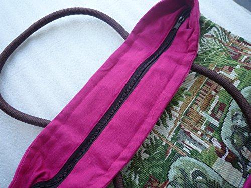 Bolso multicolor Thaishop multicolor Ariyas hombre al para hombro 5H0x0z