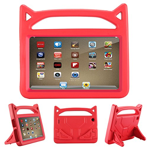 All-New Fire HD 8 Case,Fire HD 8 Kids Case,SNOW Kids Shock Proof Protective Cover Case for Amazon Fire HD 8 Tablet (6th Generation,2016 Release & 7th Generation,2017 Release) - Tablet Case Inch 8 Kids
