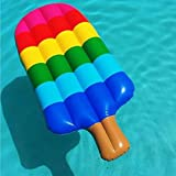 Tambeeze Inflatable Popsicle Pool Float - Summer Pool Water Slide