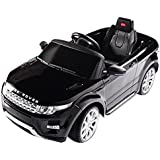 Rastar USA Range Rover Evoque Battery Operated/Remote Controlled Ride On Car, 12 V, Black