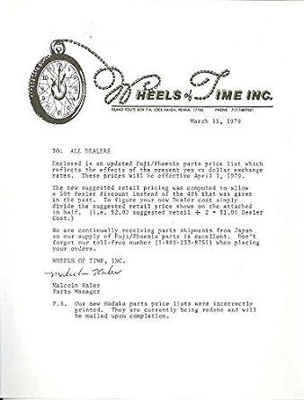 Amazon Com 1979 Fuji Phoenix Folding Bicycle Parts Price List