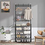 UDEAR Entryway Coat Rack,Large Storage Space, with