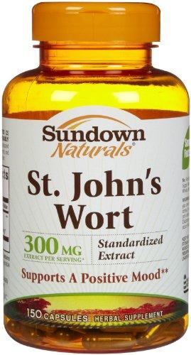 Sundown millepertuis standardisé 300 mg Caps, 150 ct