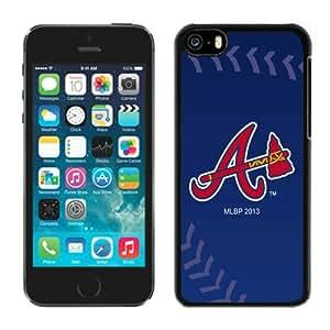 MLB Atlanta Braves Cool Custom Design iPhone 5C Phone Case 02_16108