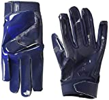 under armour men football gloves - Under Armour Men's F6 LE Football Gloves, Midnight Navy (411)/Midnight Navy, Large